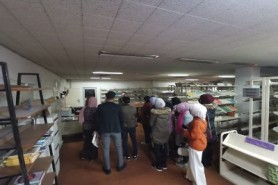 A scientific visit to the Central Library at the